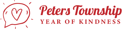 Peters Township Year of Kindness Logo